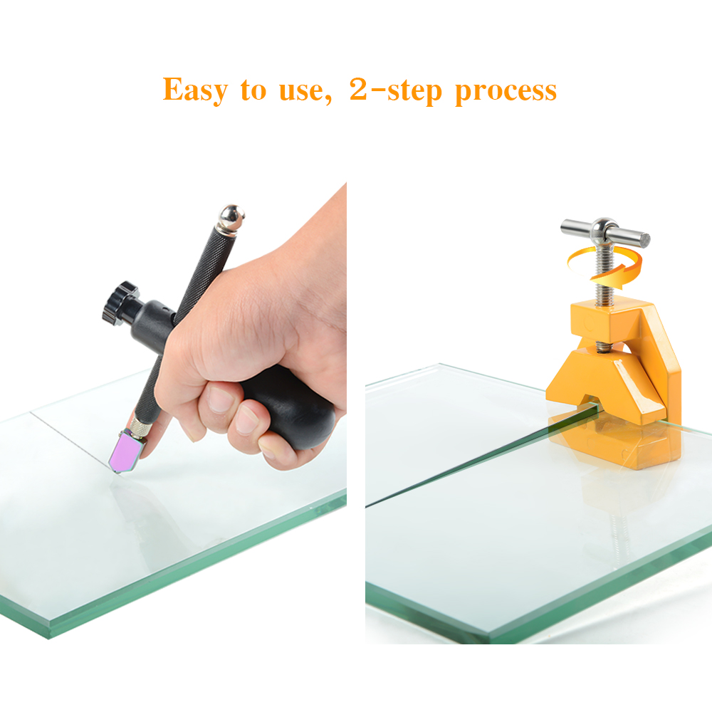 Hot Glass Cutter Ceramic Tile Cutter Cutting Thickness 19mm Replacement Cutter Manual Glass Cutting Tools Tile Tools DIY Craft