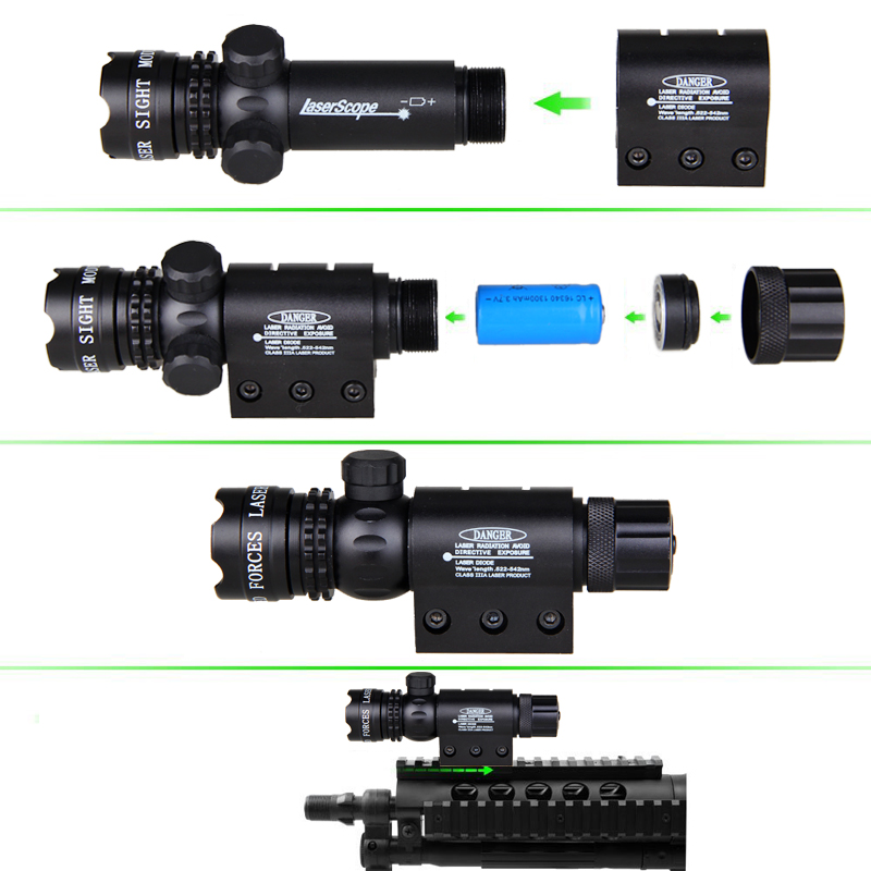 Remote Tail Switch Red Dot Laser Sight  For Rifle Gun Scope Hunting