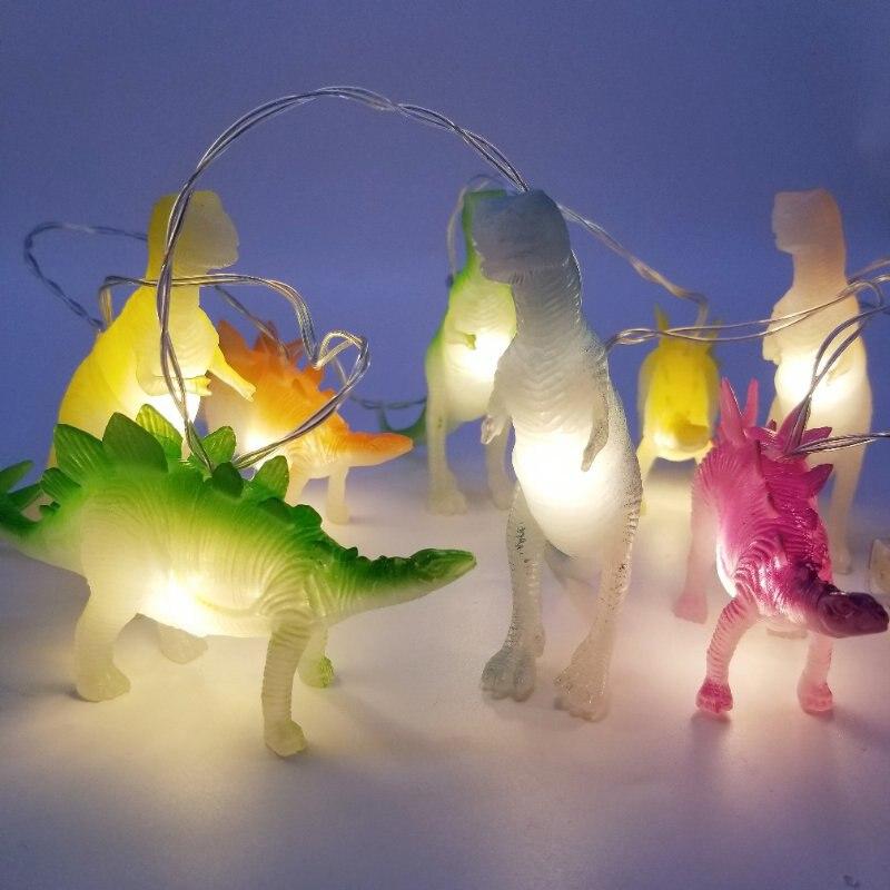 Dino-luzes de brinquedo com dinossauros brilhantes, brinquedo