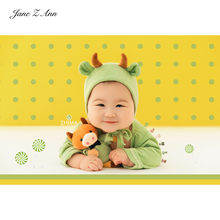 Baby ox year costume hat+romper+doll multi-colors infant cute newborn/100 days twins studio shooting outfits