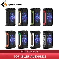 Original 200W Geekvape auspicios X caja Mod poder Dual de la batería 18650 Max 200W y IP67 impermeable Vape mod caja del Aegis solo/gen/