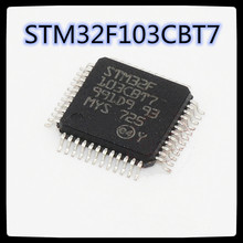 (5 pces-50 pces) stm32f103cbt7 lqfp48 encaixou processadores e controladores novos e originais