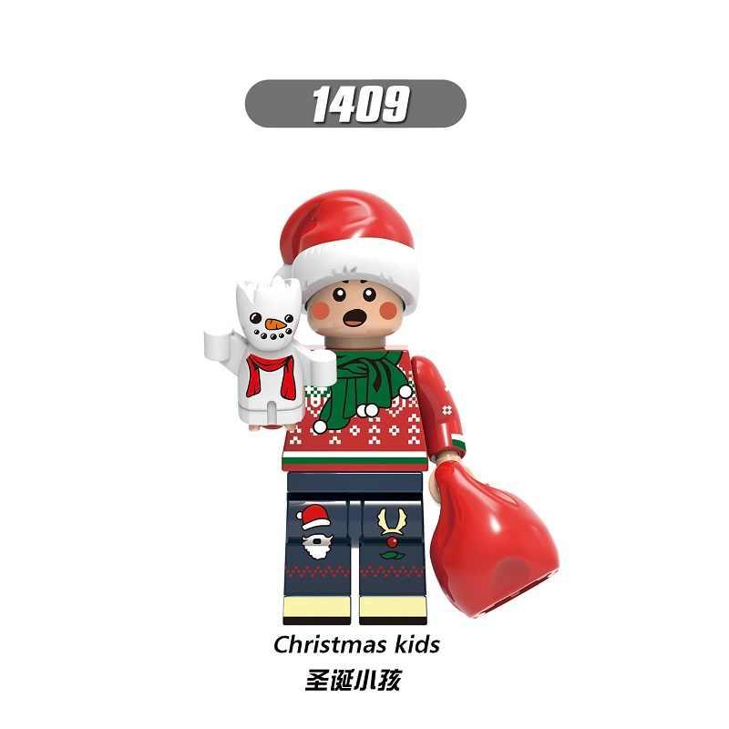 Bouwstenen Vrolijk Kerstfeest Bricks Phoenix Steve Rogers Yeti Kinderen Iron Man SW424 Vrouw Cijfers Voor Kinderen Gift Speelgoed X0275