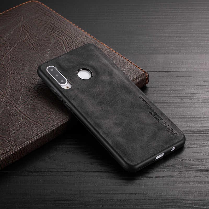 Ammyki Kulit Case untuk Huawei P20 P20 Lite P20 Pro TPU Silikon Case untuk Huawei P30 P30 Lite P30 pro Nova 3E Nova 4E Case