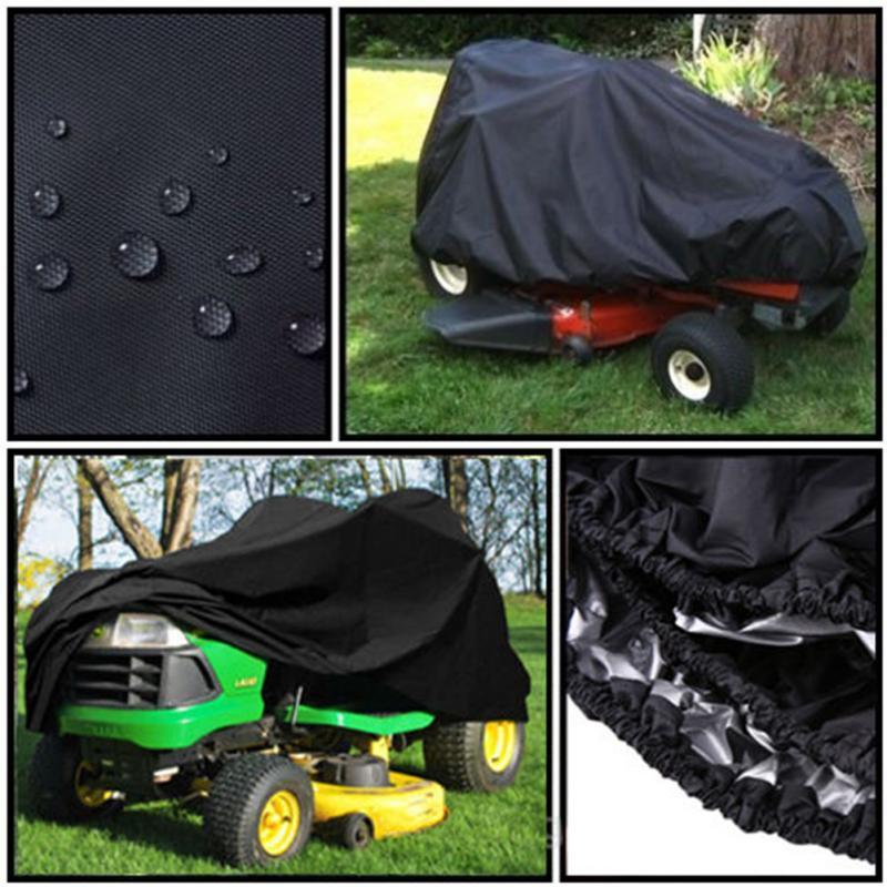 Водонепроницаемый непромокаемый открытый садовый газонокосилка солнцезащитный чехол для трактора пылезащитный чехол с Drawsting