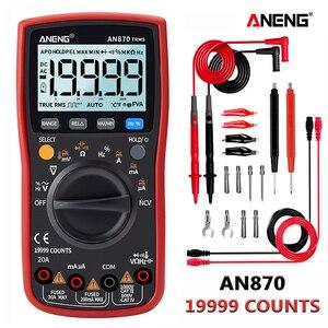 Image 1 - ANENG AN870  Digital Multimeter 19999 Counts True Rms Multimeter Transistor Tester Voltimetro Profesional Capacitance Meter
