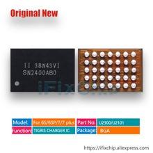 50 יח\חבילה PN2400A0A עבור iphone 6 S/6 S בתוספת USB בקרת IC טעינת מטען IC SN2400AB0 SN2400ABO 35 סיכות