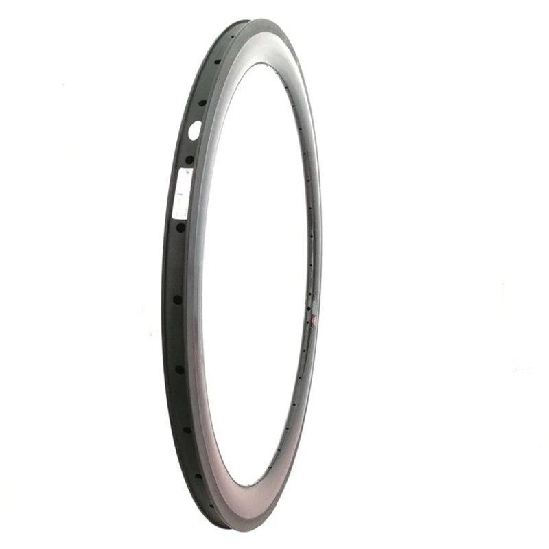 Jante en résine gt surface de frein roue 700c largeur 25mm profondeur 55mm u forme jantes en carbone toray