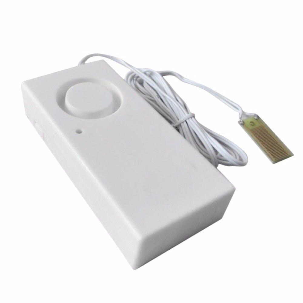 Water Leakage Alarm Detector 120dB Water Alarm Leak Sensor Detection Flood Alert Overflow Home Security Alarm System Drop Ship