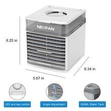 Мини-кулер для воздуха с водяным охлаждением и увлажнителем воздуха