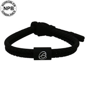 Noproblem Silicone Bracelet Wristband Bangles Charms Lightweight Woven-Pattern Antifatigue