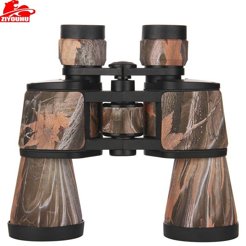 Mode 10x50 professionnel métal télescope militaire Vision nocturne Hd jumelles pour Camping en plein air chasse voyage livraison gratuite