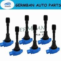 6PCS/LOT 22448-8H315 22448-8H310 C1398 UF-350 Ignition Coils For 2002-2008 Nissan Altima Sentra X-Trail 2.5L UF350