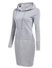 Casual Long Sleeve Hoodies Women Autumn Dress Office Lady Clothing Vestidos de Verano
