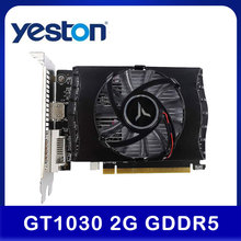 Gaming-Graphics-Card Video-Card Desktop Yeston GT1030 GDDR5/DVI-D D5 2G for Computer