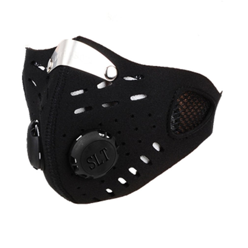 Cycling Dust Mesh Mask Activated Carbon Filter Dust Odor Masks Anti-fog Electric Face Mask For Cycling