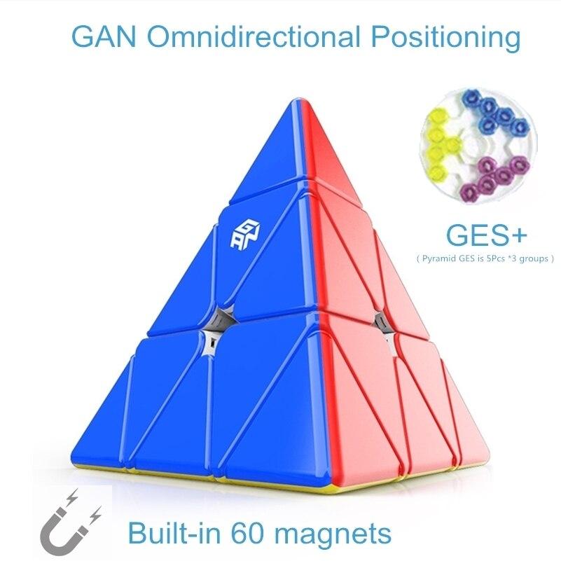 cubos gan 3x3x3 piramide magnetica cubo ges 05