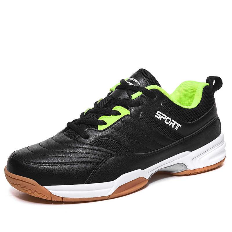 Baskets de sport stabilité chaussures de ping-pong antidérapantes chaussures de Tennis de Table respirantes chaussures de Tennis chaussures de volley-ball