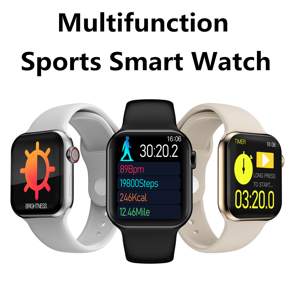 Smart Watch Men <font><b>Smartwatch</b></font> Women Connect Android ios Phone Waterproof Blood Pressure Heart Rate <font><b>T100</b></font> Fitness Bracelet PK B57 A1 image