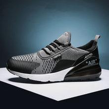 Tamanho grande dos homens 46 malha confortável esportes tênis de corrida 45 moda casual sapatos de caminhada 39 plutônio almofada de ar masculino sneakers40