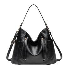 الفاخرة المرأة حقيبة حقائب النساء العلامة التجارية الشهيرة حقيبة ساع ل 2019 جلدية مصمم خمر كبيرة الأفاق الإناث حقيبة bolso