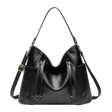 Luxe femmes sac sacs à main femmes célèbre marque Messenger sacs pour 2019 cuir Designer sac à main Vintage gros Hobos femme sac bolso