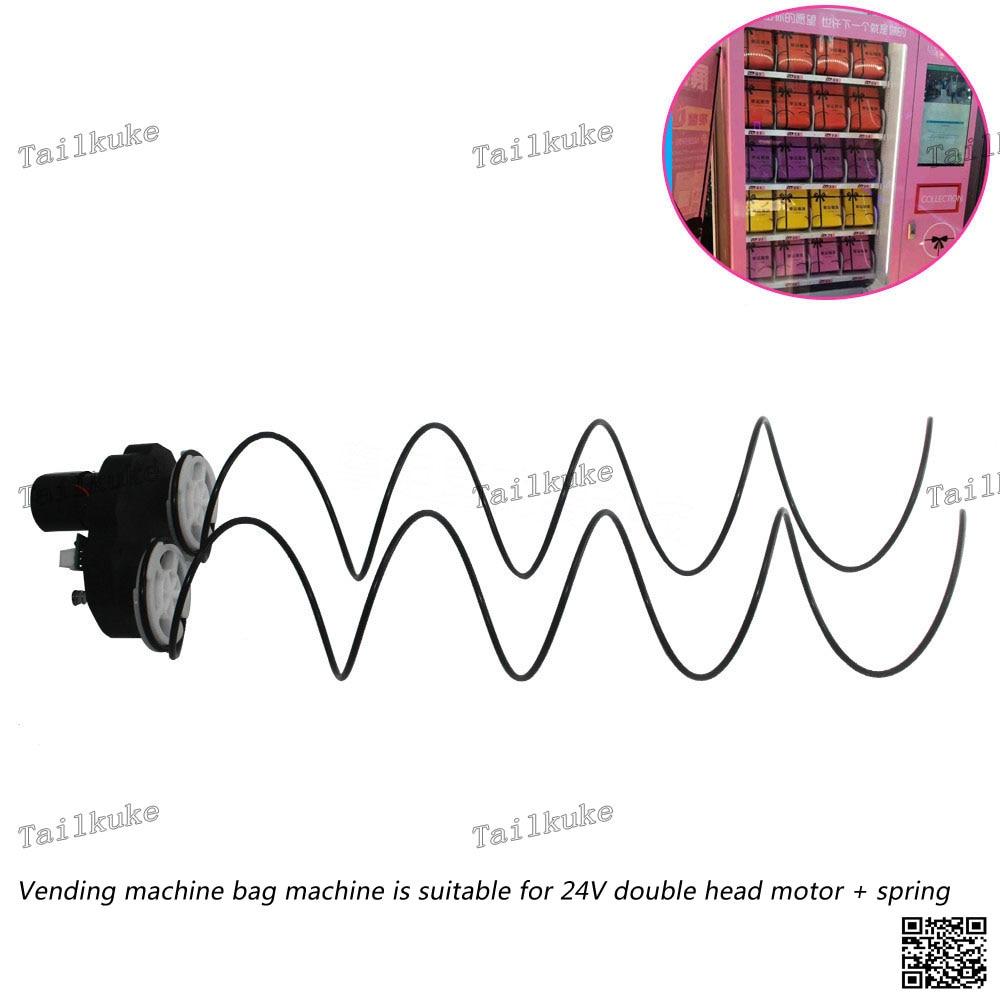 Vending Machine Double Head Motor Spring Box Machine Unmanned Vending Machine Dedicated Double 24V Motor