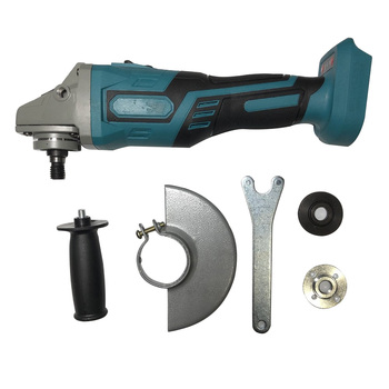 цена на For MAKITA 18V  Brushless Cordless Impact Angle Grinder Power Tools 125mm Cutting Grinding Polisher болгарка инструмент