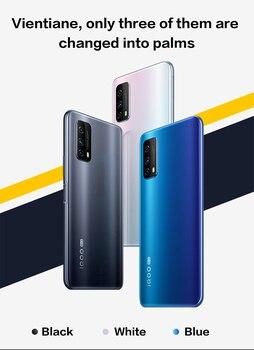 Перейти на Алиэкспресс и купить Vivo iQOO Z1x 8 Гб 256 ГБ 5G Смартфон Snapdragon 76 5G Celular 5000 мАч 33 Вт 120 Гц частота обновления 48.0MP Android 10 мобильный телефон