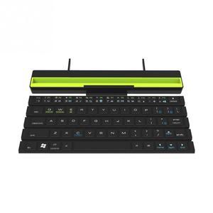 Image 3 - 1PCS With Holder Wireless Bluetooth Keyboard Universal Roll Up Quick Response Key Board with Phones Holder
