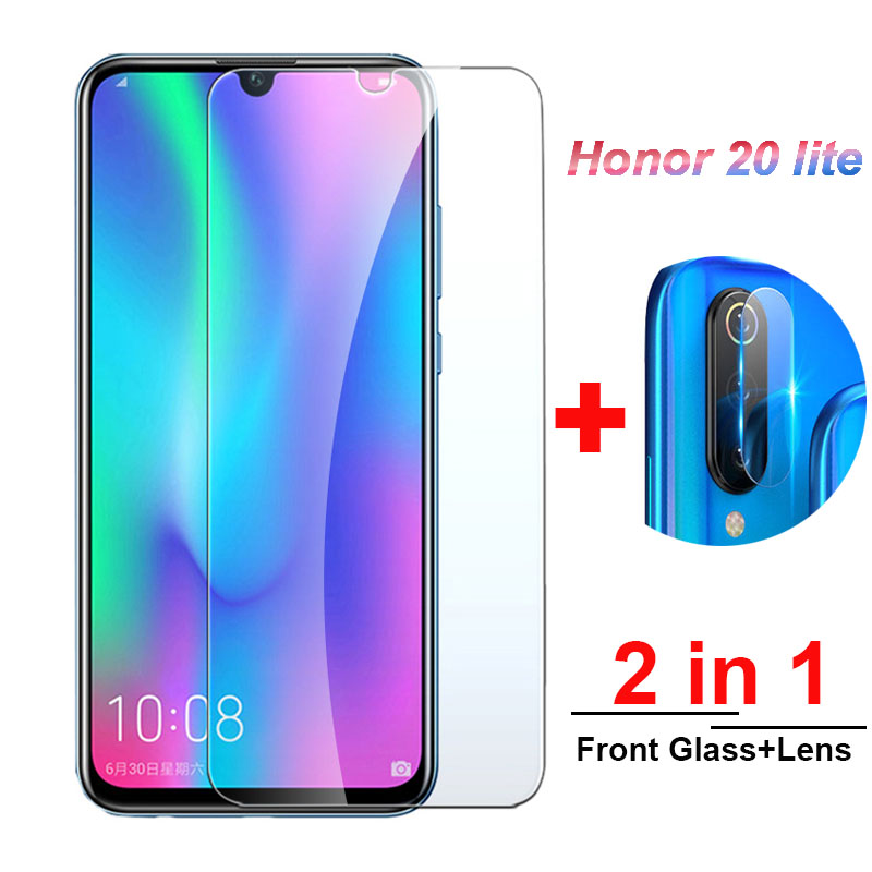 2-in-1 Tempered Glass On For Huawei Honor 20 Lite 10i 20s Camera Lens Screen Protector On Honor 20lite 20light Protective Glass