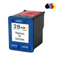 C8728a cartucho reciclado hp cor (n 28) 3x6 ml
