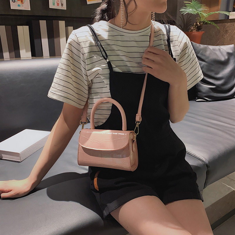 H144692d64629413cb23e68bff869b115H - New Women Shoulder Messenger Bag Ladies Handbags Casual Solid PU Leather Handbag Fashion Ladies Party Handbags Clutch