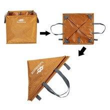 Нейлоновая складная сумка для скалолазания, веревка, складная сумка для хранения для кемпинга, пешего туризма, аксессуары для скалолазания