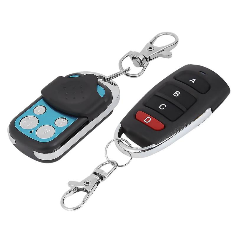 433.92 MHz Duplicator Copy Remote Control 4 Channel Garage Door Key Fob
