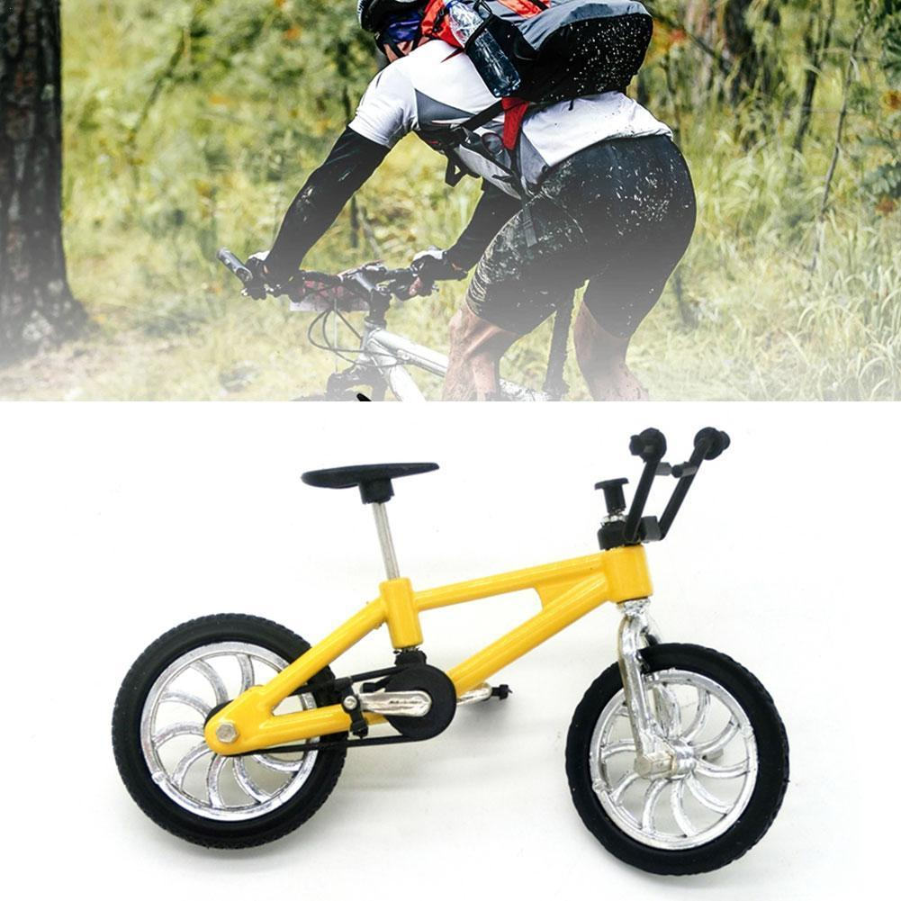 Montessori Mini bicycle toy alloy bmx finger model bicycle fans kids children decoration gift fun novelty gift toy bicycle