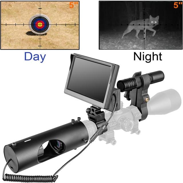 850nm Infrared LED IR Night Vision Riflescope Hunting Scopes Optics Sight Waterproof Hunting Camera Hunting Wildlife Night Visi 1
