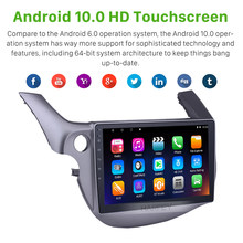 "Harfey Car Radio 2Din HD Touchscreen 10.1"" Android 10.0 GPS Stereo Wifi for Honda Fit Multimedia Player support DVR OBD2 RDS 2G(China)"
