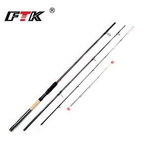 Image 2 - FTK Fishing Rod 99% Carbon Feeder Rod 3SEC C.W 40 120G 3.3M 3.6M 3.9M Standard Baitcasting Lure Fishing Stick Fishing Tackle G0D