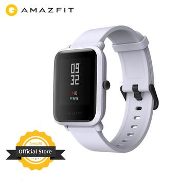 Built in GPS Amazfit Bip Smart Watch Multi Language Smartwatch Watchs Always On Display 45 Days Battery for Android Phone IOS
