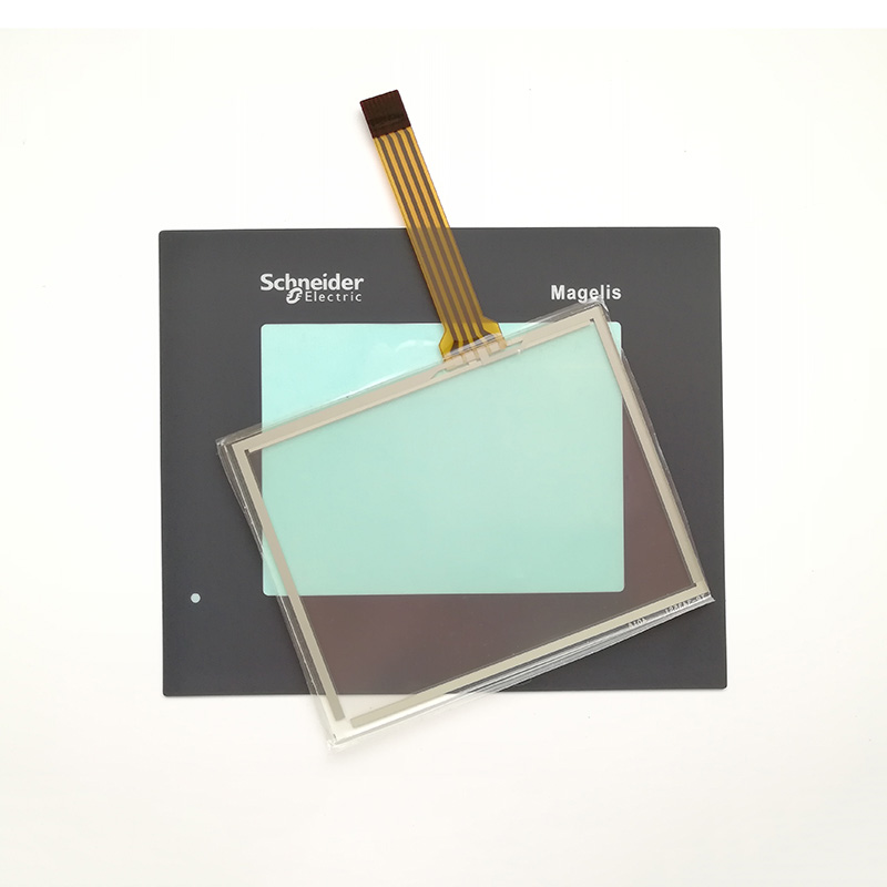 XBTGT1335 XBT-GT1335 3.8 Inch Touch Screen Glass (with Membrane Film) For Touch Panel Repair~do It Yourself, Have In Stock