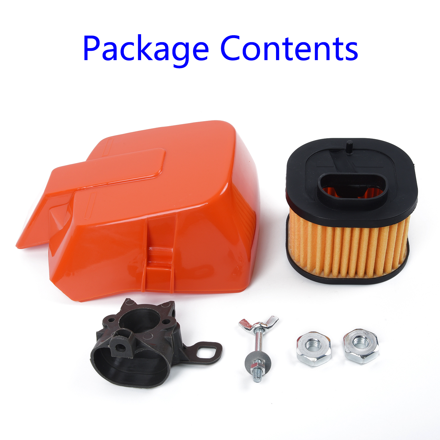 HD Top Air Filter Cover Kit For Husqvarna 362 Special 371 372 XP XPW 503817701