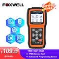 Foxwell T1000 давления воздуха в шинах инструментов программирования активация системы контроля давления в шинах датчики проверить РЧ-ключ брел...