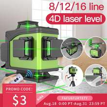 Кира уровень 16 линий 12 лазер 4d самонивелирующийся 360 горизонтальный