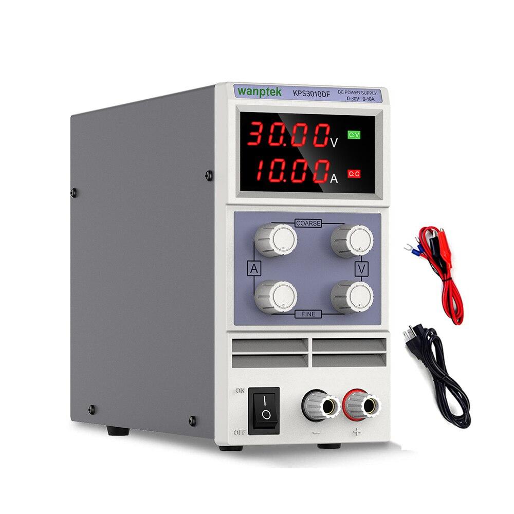 Fuente de alimentación de CC, estabilizador y regulador de voltaje ajustable, conmutación de laboratorio, fuente de Banco variable de 30v, 10a, 60v, 5a, CA de 110v y 220v
