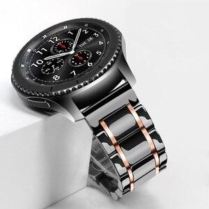 Ремешок для часов active 2 ceramics correa, для samsung galaxy watch 46 мм, для huawei watch gt 2e amazfit bip gts, 20 мм, 22 мм