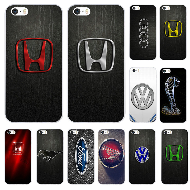 Mobile Phone <font><b>Cases</b></font> Cover for <font><b>iPhone</b></font> X XR XS 11 Pro Max 10 7 6 <font><b>6s</b></font> 8 Plus 4 4S 5 5S SE 5C Coque Bags Super Car <font><b>Logo</b></font> image