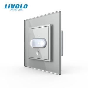 Image 4 - Livolo Interruptor de inducción táctil para el hogar, interruptor de luz de pared estándar europeo, inducción infrarroja, sin logotipo