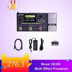 Image 1 - Mooer GE200 Amp modelling Multi Effect Processor Pedal With 26 IR Speaker Cab Model 52 Second Looper 55 Amplifier Models