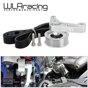 Image 1 - Kit de polea WLR ajustable EP3 para motores Honda 8th 9th Civic All K20 & K24 con tensor automático que mantiene instalado WLR CPY01 A/C